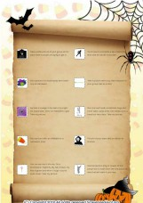 Halloween Adult Scavenger Hunt Before the Party