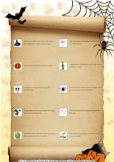 Spooky Scavenger Hunt