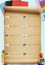 Anchor Chart and Library Scavenger Hunt