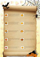 Halloween scavenger hunt 2