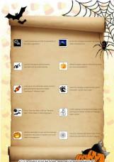 Halloween classroom  hunt using thesaurus, computer, dictionary