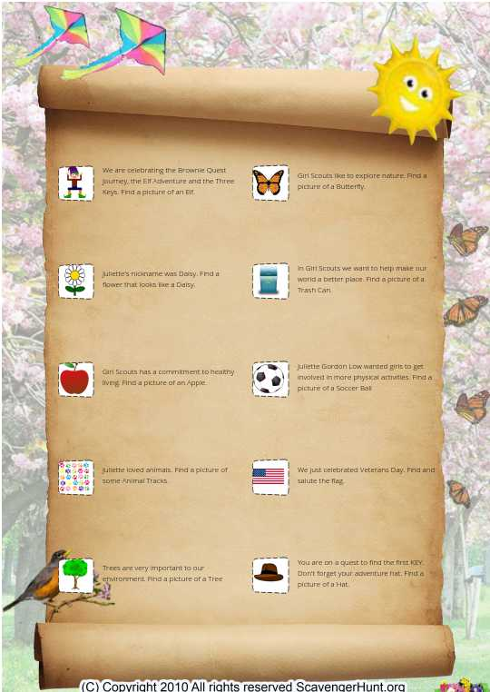 Brownie Quest Key 1