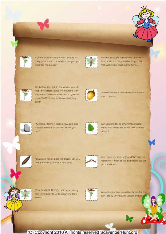 Fairy Woods v3