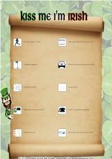 Mr. McLain's All Green Scavenger Hunt Challenge